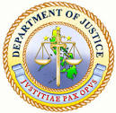 Logo - Dept of Justice